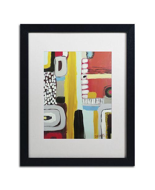 "Trademark Global Sylvie Demers 'Chemins' Matted Framed Art - 16"" x 20"" x 0.5"""