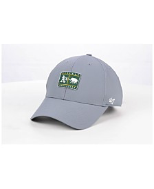 '47 Brand Oakland Athletics Silicone Patch MVP Adjustable Cap