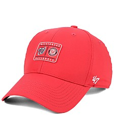 '47 Brand Washington Nationals Silicone Patch MVP Adjustable Cap