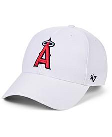 Los Angeles Angels White MVP Cap