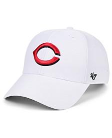 '47 Brand Cincinnati Reds White MVP Cap