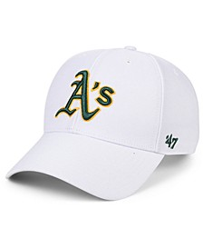 Oakland Athletics White MVP Cap