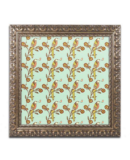 "Trademark Global Sylvie Demers 'Chanson d'Amour' Ornate Framed Art - 11"" x 11"" x 0.5"""