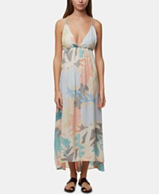 O'Neill Juniors' Kaitlyn Printed Maxi Dress