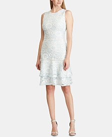 Lauren Ralph Lauren Tiered Lace Dress