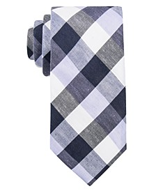 Men's Cyprie Check Slim Tie, Created for Macy's