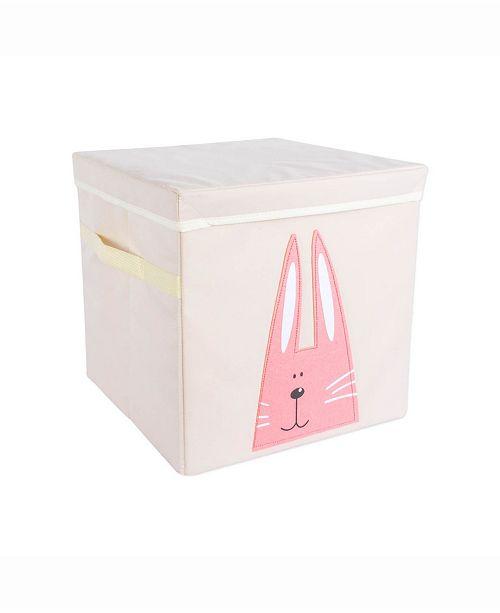 Design Import Kid Cube Rabbit, Square with Lid