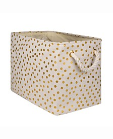 Storage Bin Dots, Rectangle