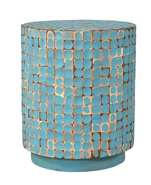 East At Main Brillion Coconut Shell Accent Table