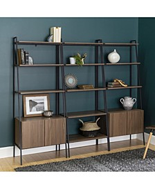 3-Piece Bookcase Set