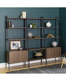 3-Piece Bookcase Set