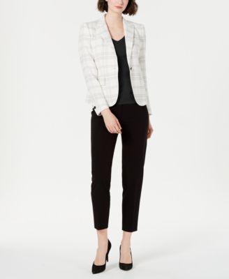 Bi-Stretch Slim-Leg Pants, Created for Macy's