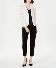 Anne Klein Blazer, Top & Ankle Pants