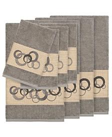 Linum Home Turkish Cotton Annabelle 8-Pc. Embellished Towel Set