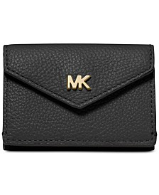 MICHAEL Michael Kors Pebble Leather Trifold Flap Wallet
