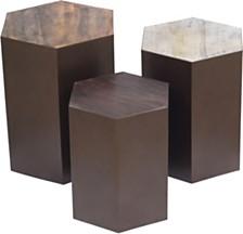 Giant's Causeway 3pc Table Set, Quick Ship