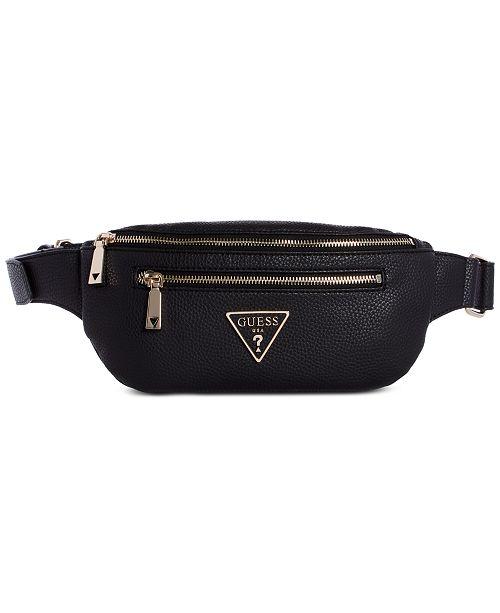 Guess Small belt bag black | Maximilian