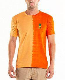 Original Paperbacks South Sea Pineapple Embroidery Side Dip Dye Crewneck Tee
