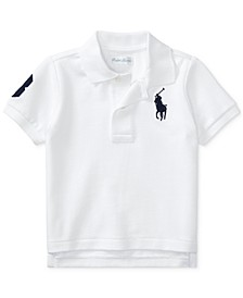 Baby Boys Cotton Mesh Polo Shirt