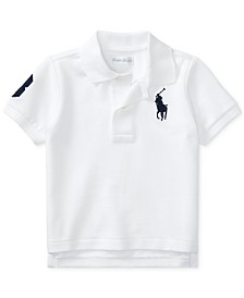 Polo Ralph Lauren Baby Boys Cotton Mesh Polo Shirt
