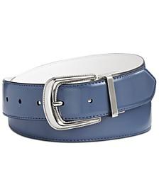 Leather Reversible Western Belt