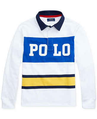 Big Boys Cotton Jersey Graphic Rugby Shirt by General