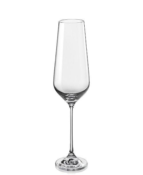 Red Vanilla Sandra All Purpose Wine Glass 15.25 Oz, Set of 6