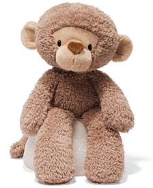 "Baby Toy, Fuzzy Monkey 13.5"""