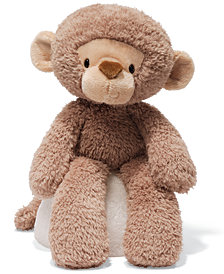 Gund® Baby Toy, Fuzzy Monkey 13.5""