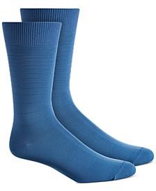 Men's Textured Stripes Socks