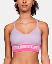 7b606a8edea Under Armour Seamless Strappy-Back Low-Impact Sports Bra