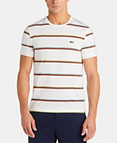 dfd620855e Lacoste Men's Striped Pima T-Shirt