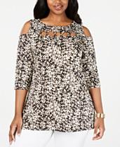9d26b5f501160f Plus Size Dressy Tops: Shop Plus Size Dressy Tops - Macy's