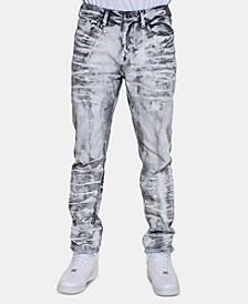 Men's Paint Print Jean
