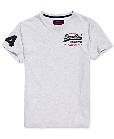 Superdry Men's Premium Goods Duo Essential Logo Graphic T-Shirt