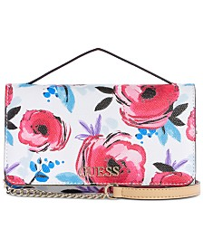 GUESS Kamryn Top Handle Crossbody Wallet
