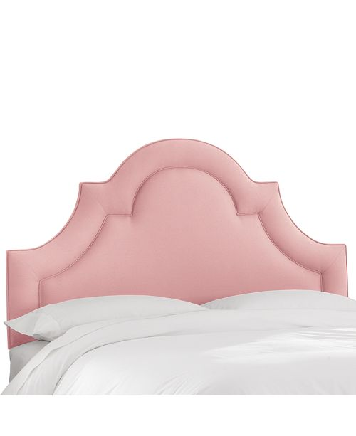 Martha Stewart Collection Whim Collection Salena Cal King Arched Headboard
