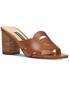 Nine West Nevaeh Block-Heel Slide Sandals