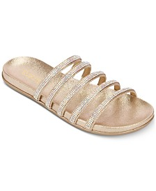 Kenneth Cole Reaction Women's Slim Shimmer Sandals