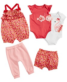 First Impressions Baby Girls Summer Flower Mix & Match Separates, Created for Macy's