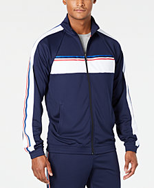 ID Ideology Men's Striped Track Jacket, Created for Macy's