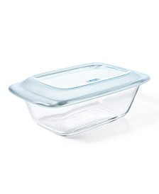 Good Grips 1.6-Qt. Glass Loaf Pan With Lid