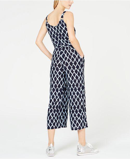 Capris Kors Shore Bleu IkatRegulierPetite Combinaison Pantalons Petites Michael Avis YHWD9IE2