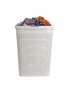 Mind Reader Slim Laundry Basket