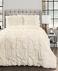 Bella 3-Piece Full/Queen Comforter Set