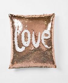 Mermaid Sequins Decorative Pillow