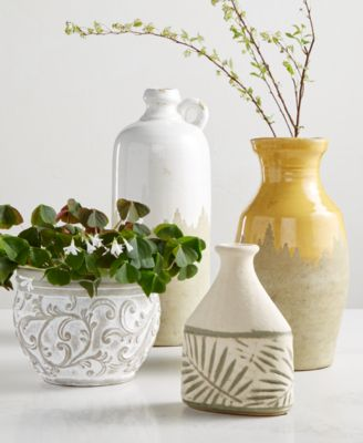 CLOSEOUT! La Dolce Vita Tall Ceramic Vase