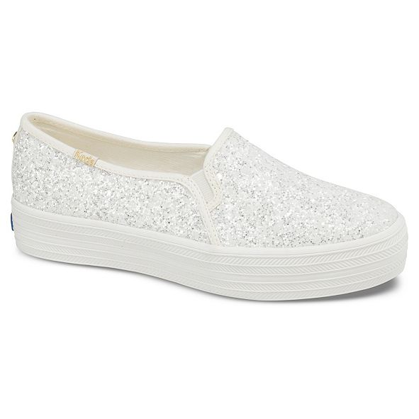 kate spade new york Triple Decker Glitter Sneakers