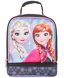 Bioworld Little & Big Girls Frozen Graphic Dual Lunch Kit