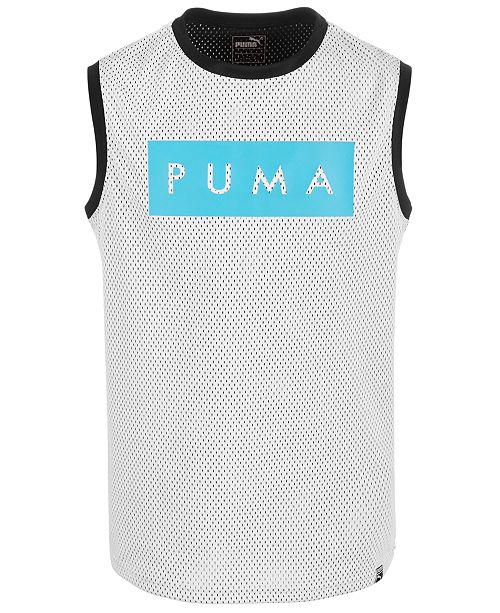 Puma Big Boys Mesh Muscle T-Shirt